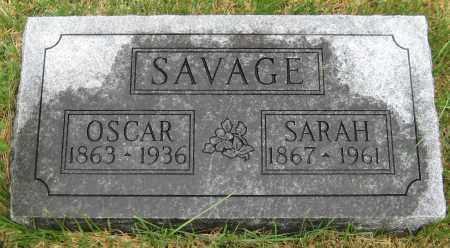 SAVAGE, SARAH - Saline County, Nebraska | SARAH SAVAGE - Nebraska Gravestone Photos