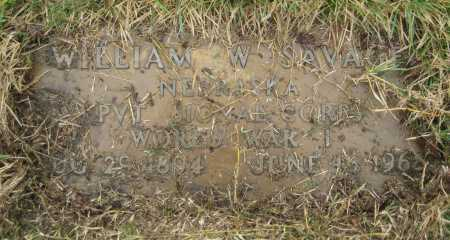SAVAGE, WILLIAM W. - Saline County, Nebraska | WILLIAM W. SAVAGE - Nebraska Gravestone Photos