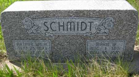 SCHMIDT, ARTHUR WILLIAM H. - Saline County, Nebraska | ARTHUR WILLIAM H. SCHMIDT - Nebraska Gravestone Photos