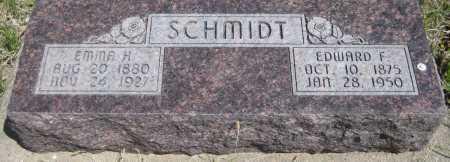SCHMIDT, EMMA H. - Saline County, Nebraska | EMMA H. SCHMIDT - Nebraska Gravestone Photos