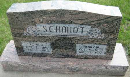 SCHMIDT, EMMA A. - Saline County, Nebraska | EMMA A. SCHMIDT - Nebraska Gravestone Photos