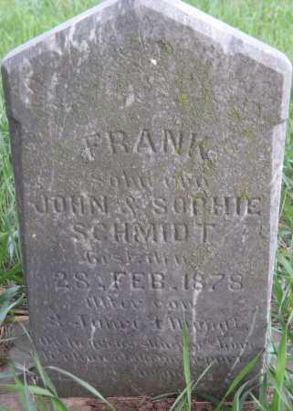 SCHMIDT, FRANK - Saline County, Nebraska | FRANK SCHMIDT - Nebraska Gravestone Photos