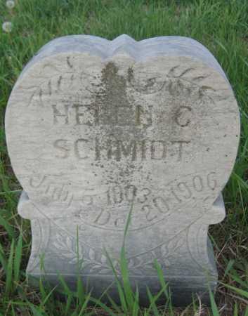 SCHMIDT, HELEN C. - Saline County, Nebraska | HELEN C. SCHMIDT - Nebraska Gravestone Photos