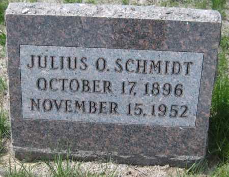 SCHMIDT, JULIUS O. - Saline County, Nebraska | JULIUS O. SCHMIDT - Nebraska Gravestone Photos