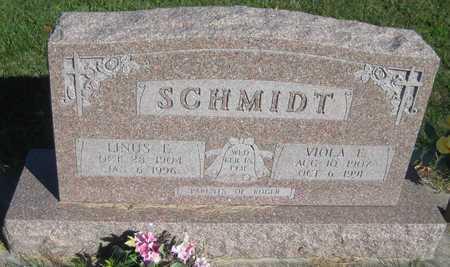 SCHMIDT, LINUS EDWARD - Saline County, Nebraska | LINUS EDWARD SCHMIDT - Nebraska Gravestone Photos