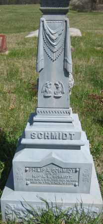 SCHMIDT, PHILIP A. - Saline County, Nebraska | PHILIP A. SCHMIDT - Nebraska Gravestone Photos