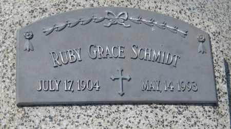 SCHMIDT, RUBY GRACE - Saline County, Nebraska   RUBY GRACE SCHMIDT - Nebraska Gravestone Photos