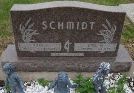 SCHMIDT, RUTH E. - Saline County, Nebraska | RUTH E. SCHMIDT - Nebraska Gravestone Photos