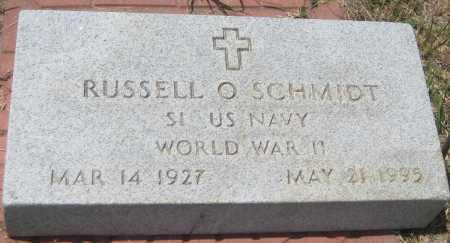 SCHMIDT, RUSSELL O. - Saline County, Nebraska | RUSSELL O. SCHMIDT - Nebraska Gravestone Photos