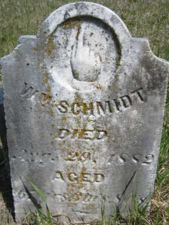 SCHMIDT, WILLIAM - Saline County, Nebraska | WILLIAM SCHMIDT - Nebraska Gravestone Photos