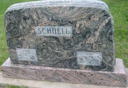 SCHNELL, WILLIAM CHRISTIAN - Saline County, Nebraska | WILLIAM CHRISTIAN SCHNELL - Nebraska Gravestone Photos