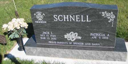 SCHNELL, PATRICIA A. - Saline County, Nebraska | PATRICIA A. SCHNELL - Nebraska Gravestone Photos