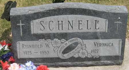 SCHNELL, VERONICA - Saline County, Nebraska | VERONICA SCHNELL - Nebraska Gravestone Photos