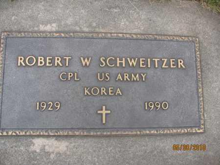 SCHWEITZER, ROBERT W. - Saline County, Nebraska | ROBERT W. SCHWEITZER - Nebraska Gravestone Photos