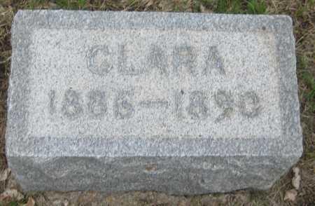 SCHWENTKER, CLARA - Saline County, Nebraska | CLARA SCHWENTKER - Nebraska Gravestone Photos