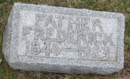SCHWENTKER, FREDERICK - Saline County, Nebraska | FREDERICK SCHWENTKER - Nebraska Gravestone Photos