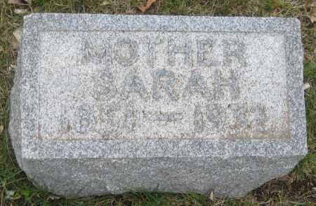 SCHWENTKER, SARAH - Saline County, Nebraska   SARAH SCHWENTKER - Nebraska Gravestone Photos