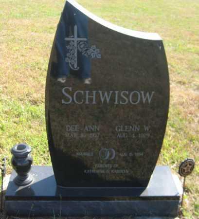 KASL SCHWISOW, DEE ANN - Saline County, Nebraska | DEE ANN KASL SCHWISOW - Nebraska Gravestone Photos