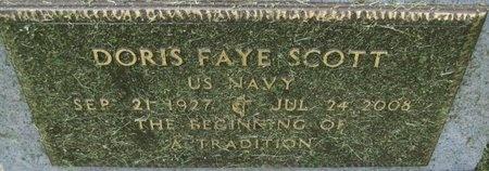 SCOTT, DORIS FAYE - Saline County, Nebraska | DORIS FAYE SCOTT - Nebraska Gravestone Photos
