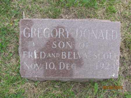 SCOTT, GREGORY DONALD - Saline County, Nebraska   GREGORY DONALD SCOTT - Nebraska Gravestone Photos