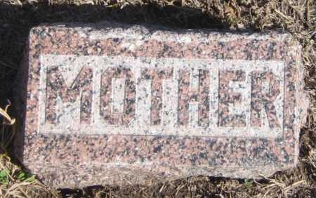 SCOTT, SARAH - Saline County, Nebraska | SARAH SCOTT - Nebraska Gravestone Photos