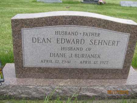 SEHNERT, DEAN EDWARD - Saline County, Nebraska   DEAN EDWARD SEHNERT - Nebraska Gravestone Photos