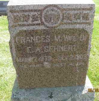 SEHNERT, FRANCES MARIAN - Saline County, Nebraska | FRANCES MARIAN SEHNERT - Nebraska Gravestone Photos
