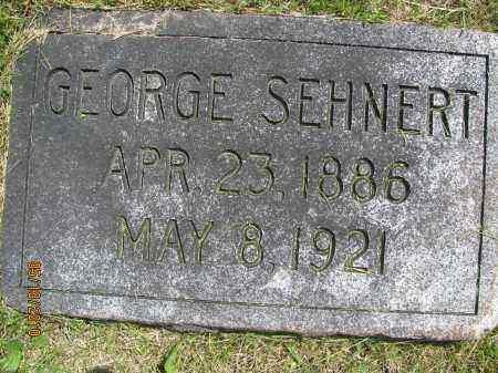 SEHNERT, GEORGE - Saline County, Nebraska | GEORGE SEHNERT - Nebraska Gravestone Photos