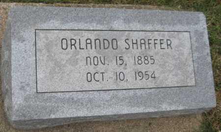 SHAFFER, ORLANDO - Saline County, Nebraska | ORLANDO SHAFFER - Nebraska Gravestone Photos