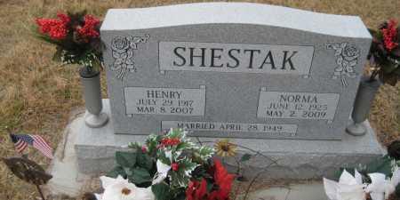 REZNY SHESTAK, NORMA - Saline County, Nebraska | NORMA REZNY SHESTAK - Nebraska Gravestone Photos