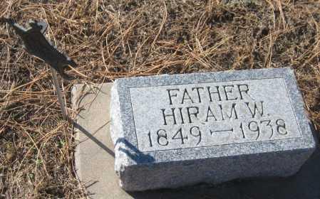 SHUFELDT, HIRAM W. - Saline County, Nebraska   HIRAM W. SHUFELDT - Nebraska Gravestone Photos