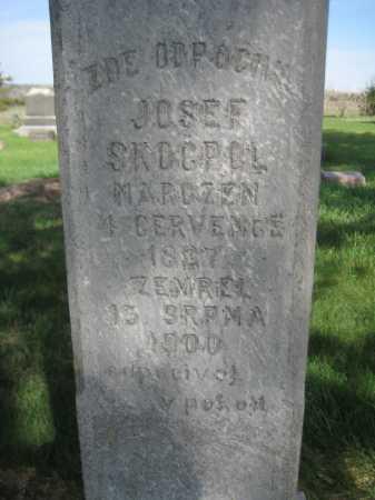 SKOCPOL, JOSEF - Saline County, Nebraska | JOSEF SKOCPOL - Nebraska Gravestone Photos