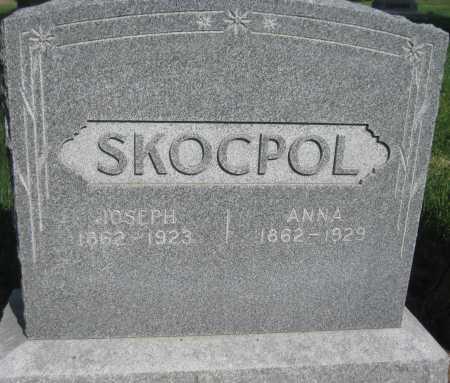 SKOCPOL, ANNA - Saline County, Nebraska | ANNA SKOCPOL - Nebraska Gravestone Photos