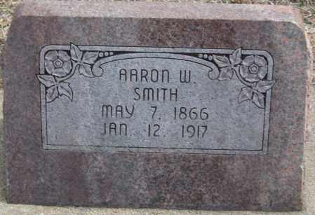 SMITH, AARON W. - Saline County, Nebraska | AARON W. SMITH - Nebraska Gravestone Photos