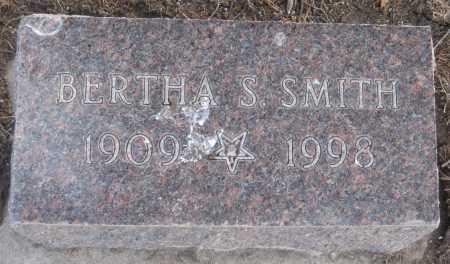 SMITH, BERTHA S. - Saline County, Nebraska | BERTHA S. SMITH - Nebraska Gravestone Photos