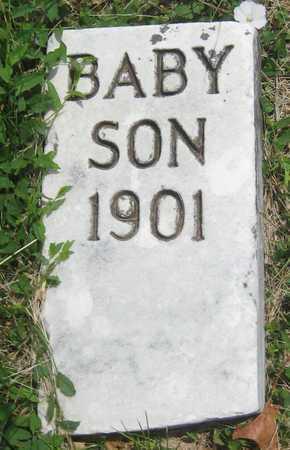 SMITH, BABY SON - Saline County, Nebraska | BABY SON SMITH - Nebraska Gravestone Photos