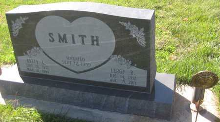 SMITH, BETTY L. - Saline County, Nebraska | BETTY L. SMITH - Nebraska Gravestone Photos