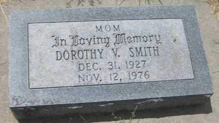 SMITH, DOROTHY V. - Saline County, Nebraska | DOROTHY V. SMITH - Nebraska Gravestone Photos