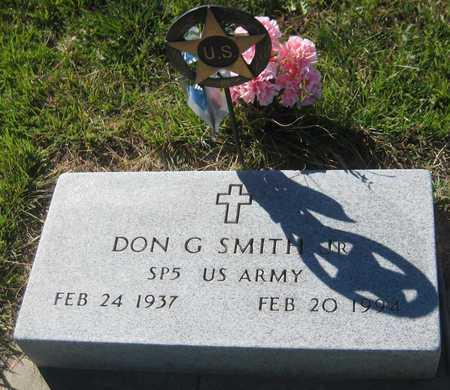 SMITH, DON G. - Saline County, Nebraska   DON G. SMITH - Nebraska Gravestone Photos