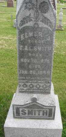 SMITH, ELMER J. - Saline County, Nebraska | ELMER J. SMITH - Nebraska Gravestone Photos