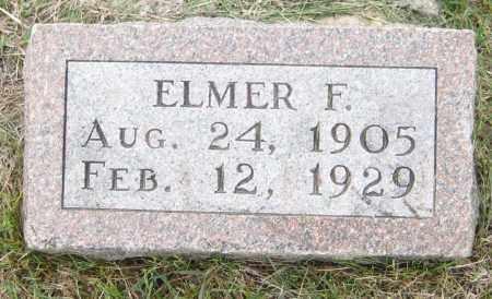 SMITH, ELMER F. - Saline County, Nebraska | ELMER F. SMITH - Nebraska Gravestone Photos