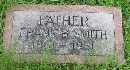 SMITH, FRANK BENJAMIN - Saline County, Nebraska | FRANK BENJAMIN SMITH - Nebraska Gravestone Photos
