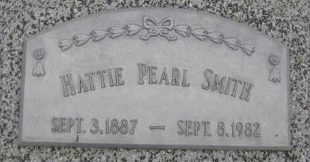 SMITH, HATTIE PEARL - Saline County, Nebraska | HATTIE PEARL SMITH - Nebraska Gravestone Photos