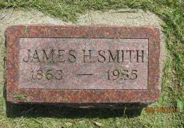 SMITH, JAMES HENRY - Saline County, Nebraska | JAMES HENRY SMITH - Nebraska Gravestone Photos