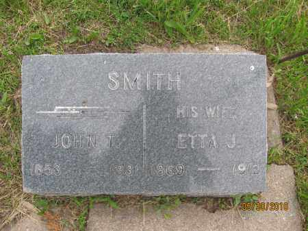 SMITH, ETTA J. - Saline County, Nebraska | ETTA J. SMITH - Nebraska Gravestone Photos