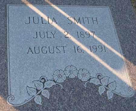 SMITH, JULIA - Saline County, Nebraska | JULIA SMITH - Nebraska Gravestone Photos