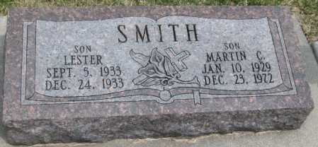 SMITH, LESTER - Saline County, Nebraska | LESTER SMITH - Nebraska Gravestone Photos