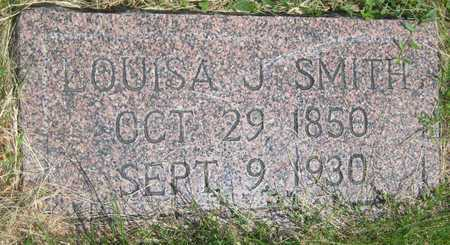 SMITH, LOUISA JANE - Saline County, Nebraska | LOUISA JANE SMITH - Nebraska Gravestone Photos
