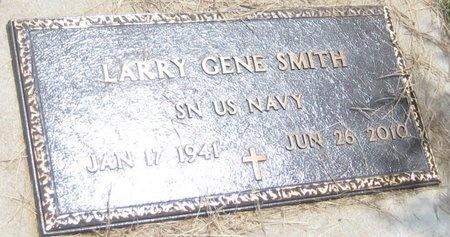 SMITH, LARRY GENE - Saline County, Nebraska | LARRY GENE SMITH - Nebraska Gravestone Photos