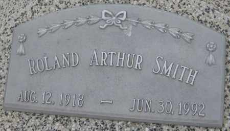 SMITH, ROLAND ARTHUR - Saline County, Nebraska | ROLAND ARTHUR SMITH - Nebraska Gravestone Photos